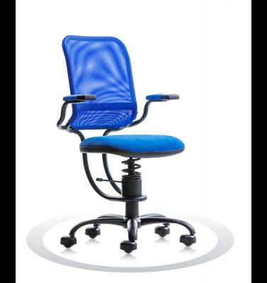Ergonomische stoel Spinalis Ergonomic blauw