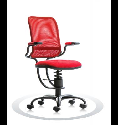 Ergonomische stoel Spinalis Ergonomic rood