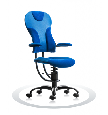 Ergonomische stoel Spinalis Spider blauw