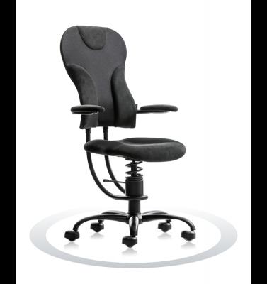 Ergonomische stoel Spinalis Spider zwart