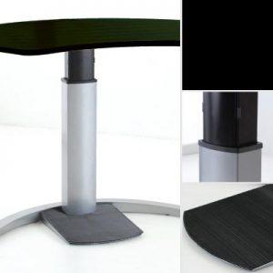 Flexibele werkplek 501-19 Design zwart-laminaat