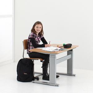 Zit-sta tafel/bureau voor groot en klein