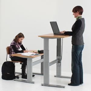 Elektrisch in hoogte verstelbaar bureau