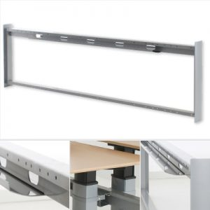 Zit-sta-bureau eiland modulair frame 600-1-L