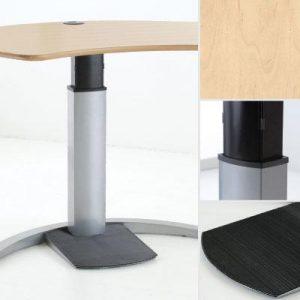 Flexibele werkplek 501-19 Design Esdoorn