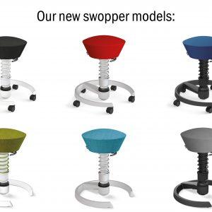 Aeris Swopper nieuwe modellen